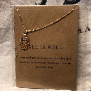 All is well necklace